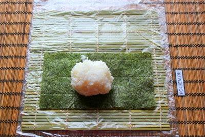 Роллы рис сверху в домашних условиях рецепты