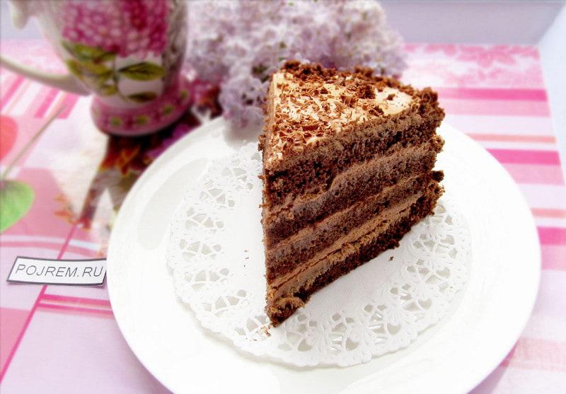 шоколадный торт с пошаговым рецептом