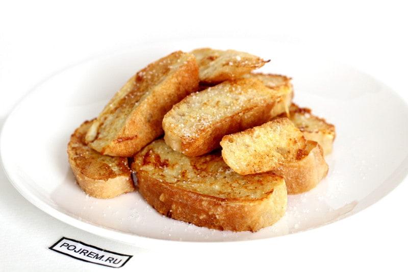 гренки из белого хлеба