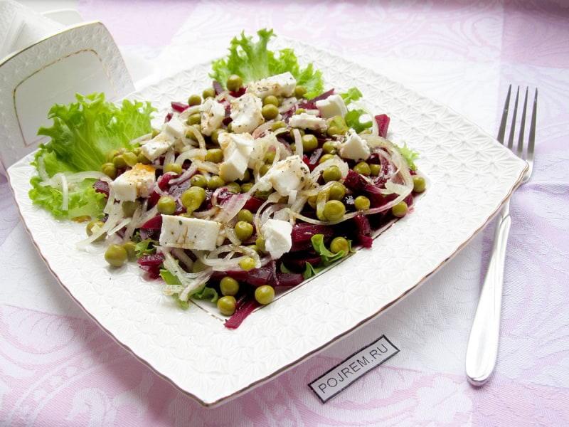 греческий салат с брынзой пошаговый рецепт