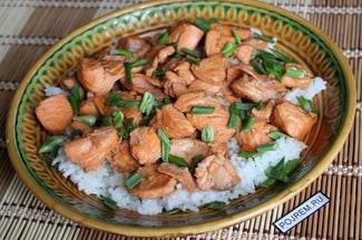 Сёмга с рисом
