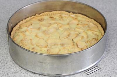 Цветаевский пирог с творогом и яблоками пошаговое приготовление
