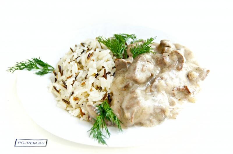 рецепт приготовления подливы из печени