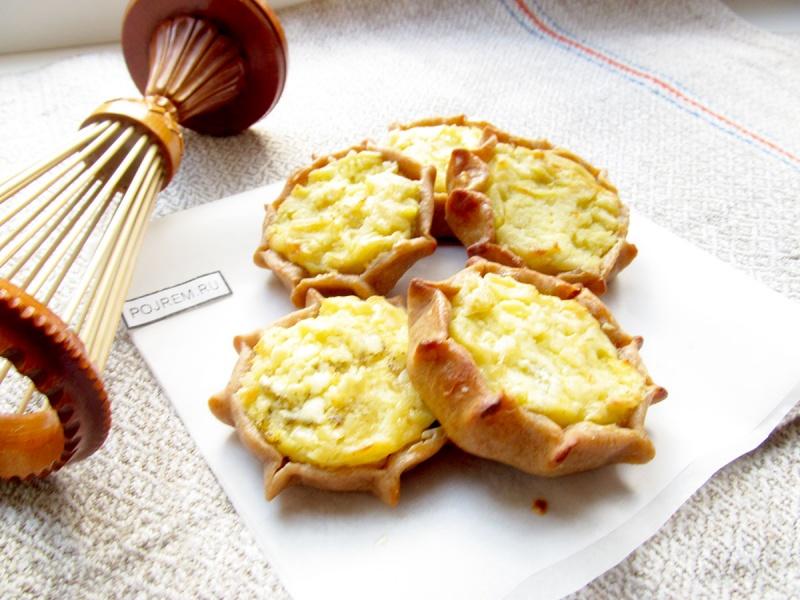 калитки с картошкой