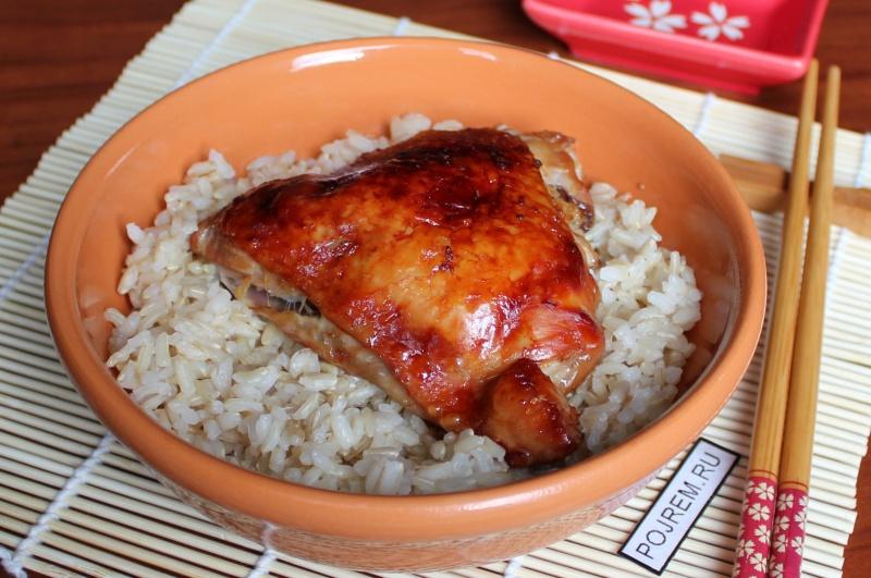 рецепт приготовления курицы в соусе терияки