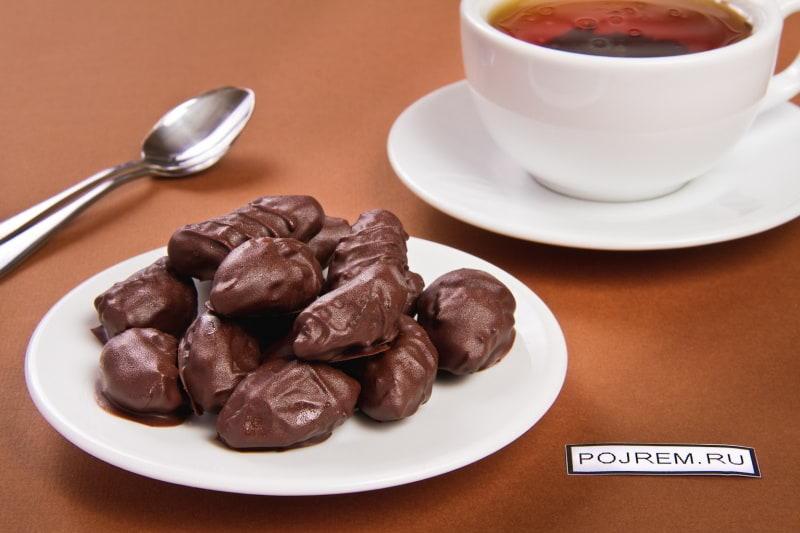 как сделать чернослив в шоколаде в домашних условиях