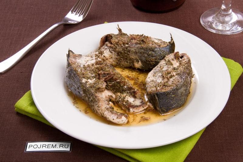 как приготовить тунца вкусно в духовке в фольге