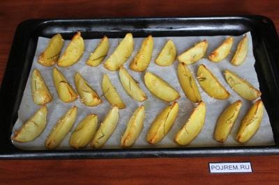 Рецепт картошки с мясом в духовке со сливками