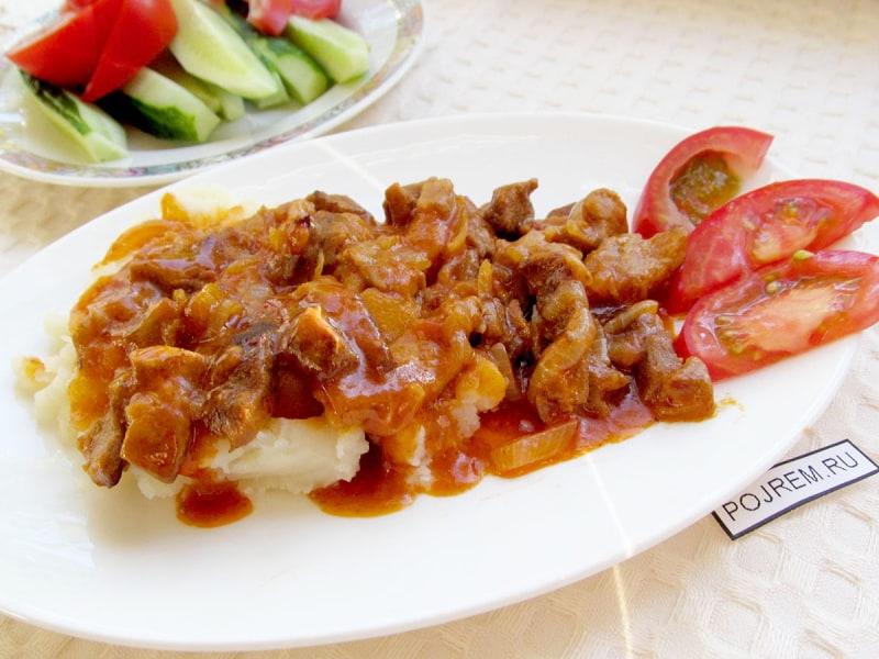 подлив из свинины рецепт с фото пошагово