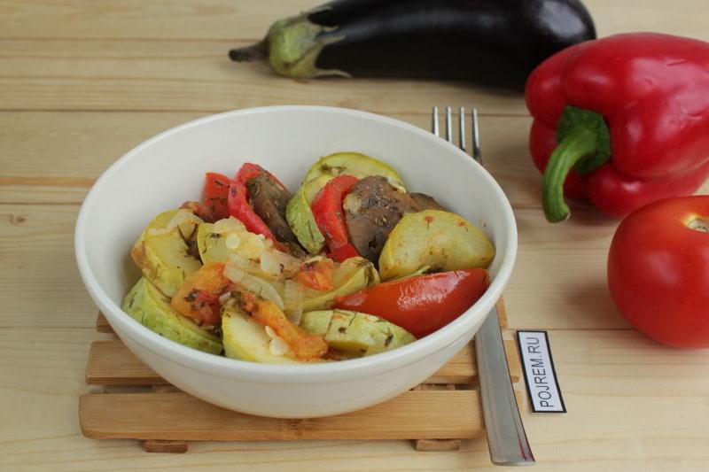 Блюда из картошки лёгкие