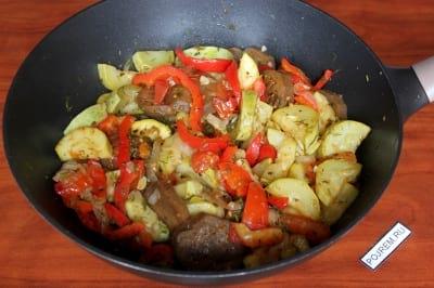 рецепт вкусного рагу из овощей с мясом