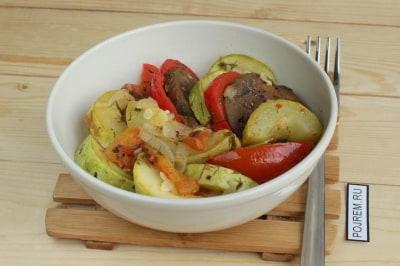рецепт вкусного рагу из овощей в мультиварке