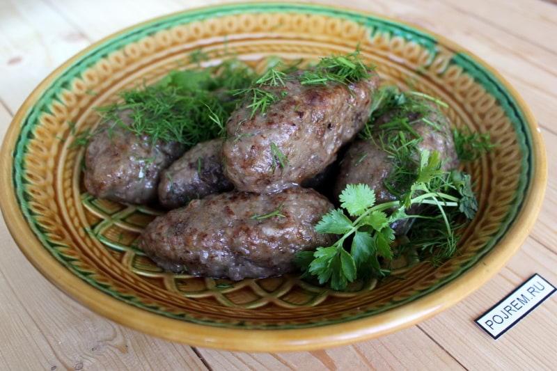 Рецепт горячего блюда из куриной голени