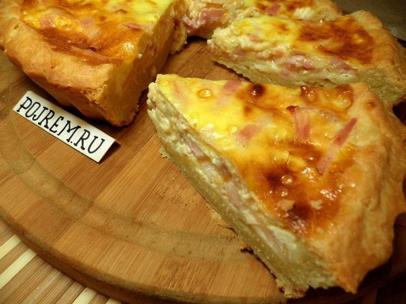 Осетинский пирог с сыром и зеленью: рецепт с фото