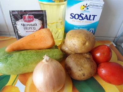 Тушеные кабачки с помидорами пошаговый рецепт с