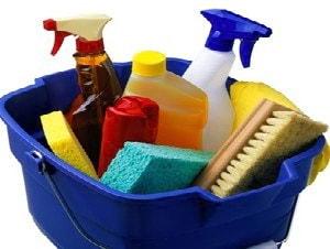 Уборка кухни за считанные минуты