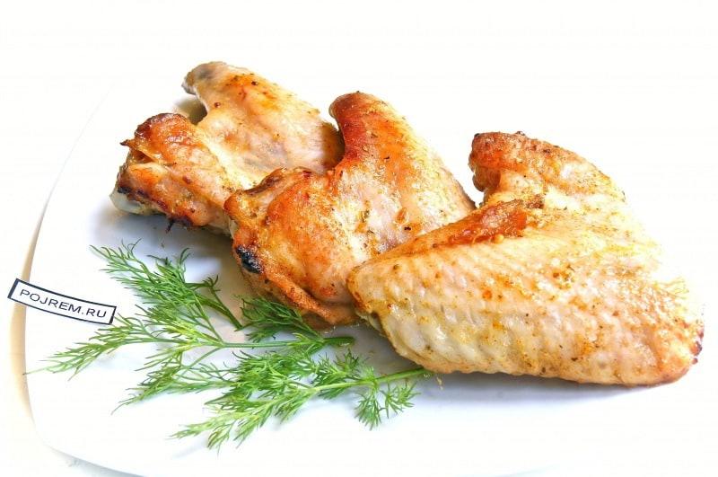 Попробуйте куриные крылышке в меду