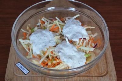 корейский салат из картофеля с мясом рецепт