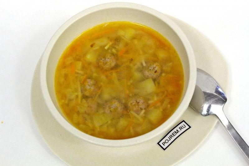 Вермишель суп в мультиварке пошаговый рецепт с фото