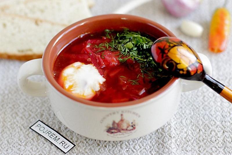 рецепт как сварить суп борщ