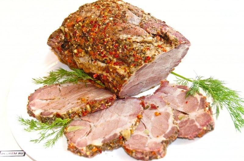 свинина праздничная