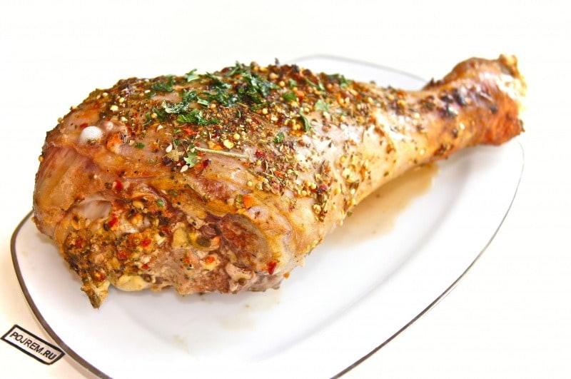 запечь куриную голень в духовке рецепт