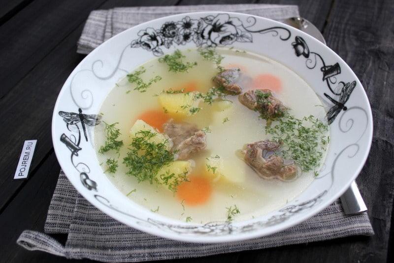 супы быстро и вкусно рецепты лапша