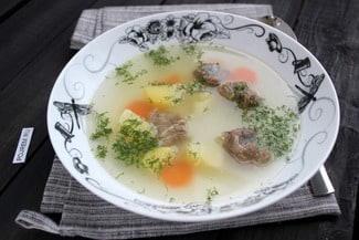 Суп на косточке
