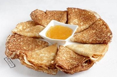 заварные блины на кефире рецепт тонкие с дырочками пошаговый рецепт