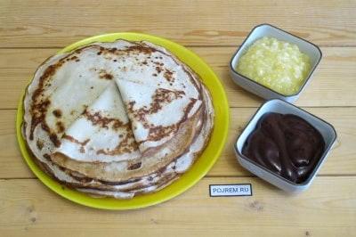фото пошаговый рецепт блинного торта из клубники
