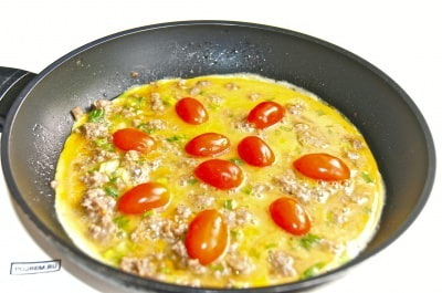 Омлет с фаршем по-арабски - пошаговый рецепт с фото на Повар.ру
