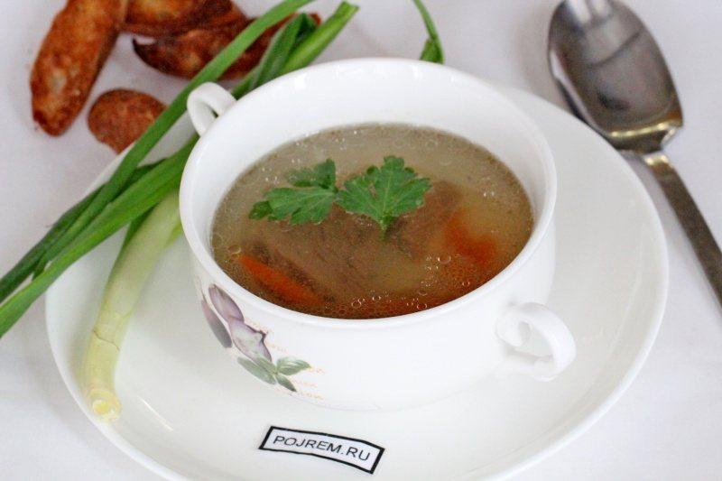 суп без бульона рецепт с фото
