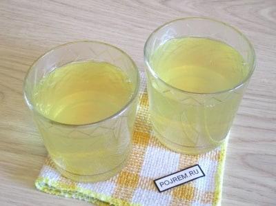 лимонное желе рецепт из сиропа