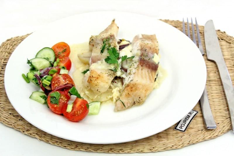 пангасиус в духовке