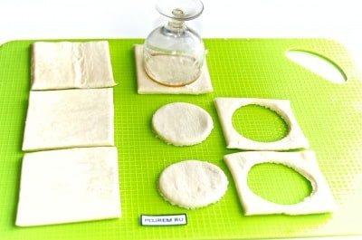 как сделать тарталетки из слоеного теста