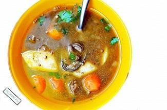 Печёночный суп