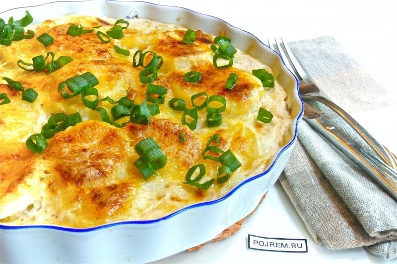 Как приготовить картофель гратен в мультиварке