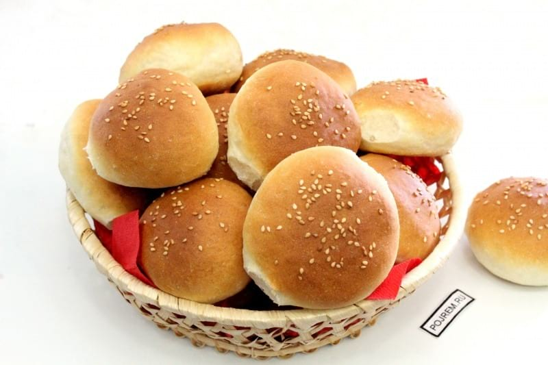 Булки для гамбургеров рецепт с фото