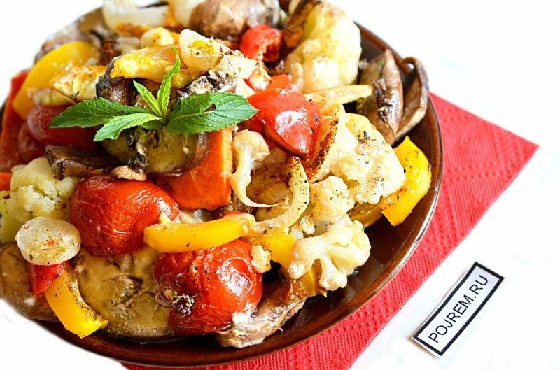 Блюда из баклажан и помидоров простые