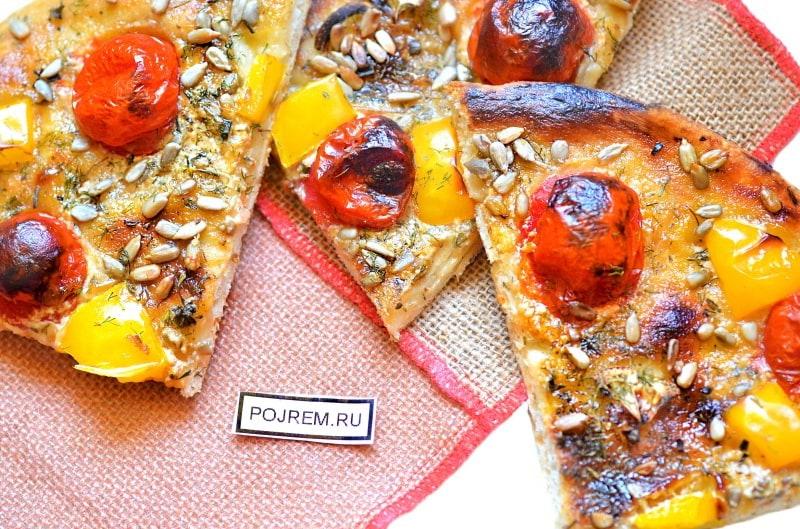 Итальянская пицца маргарита рецепт с фото