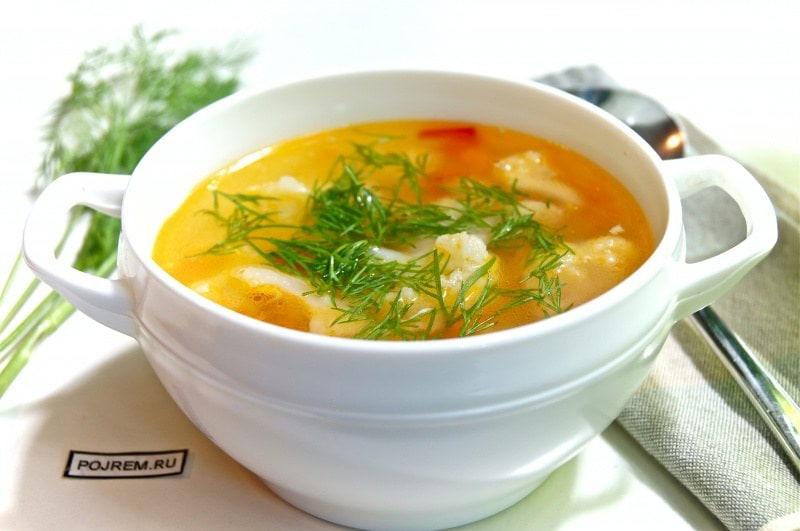 куриный суп с овощами простой рецепт