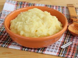 Картофельное пюре с корнем сельдерея