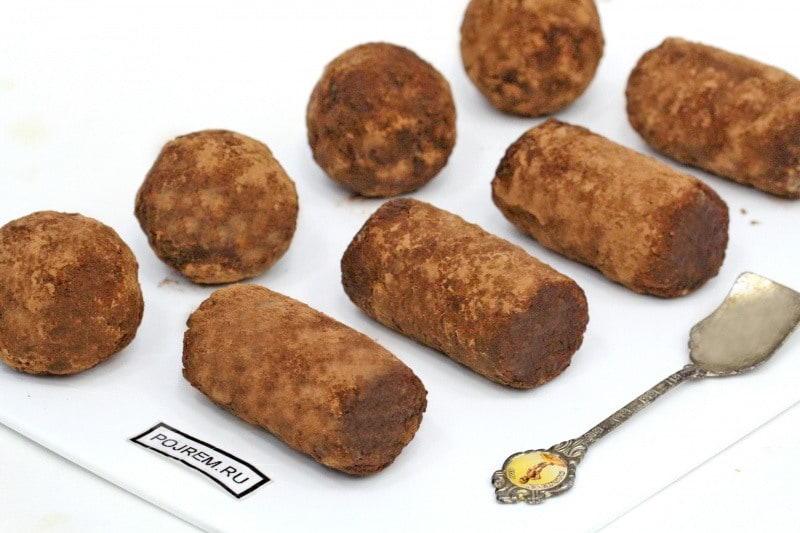 домашние пирожные картошка