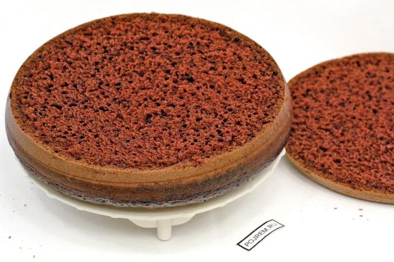 Шоколадный торт на кипятке рецепт с фото