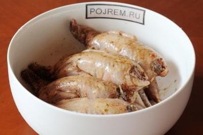 рецепт перепелок в духовке с картошкой в