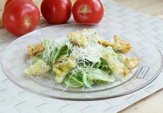 Салат «Цезарь» без курицы с сыром