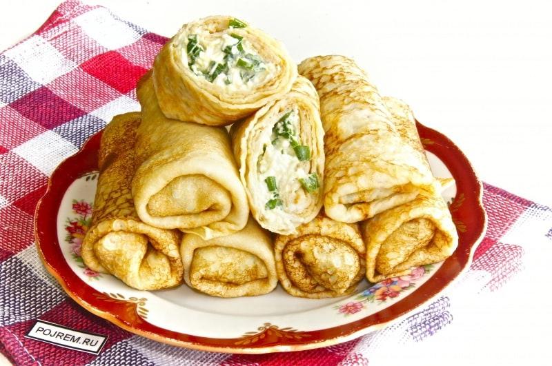 Блины с луком и яйцом рецепт с пошаговым фото