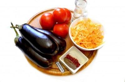 баклажаны веером запеченные в духовке рецепты