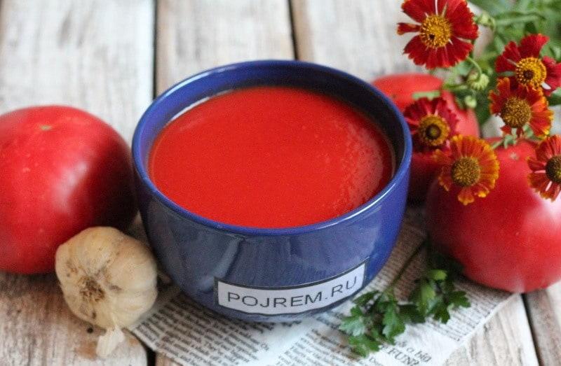 томатный сок из помидоров