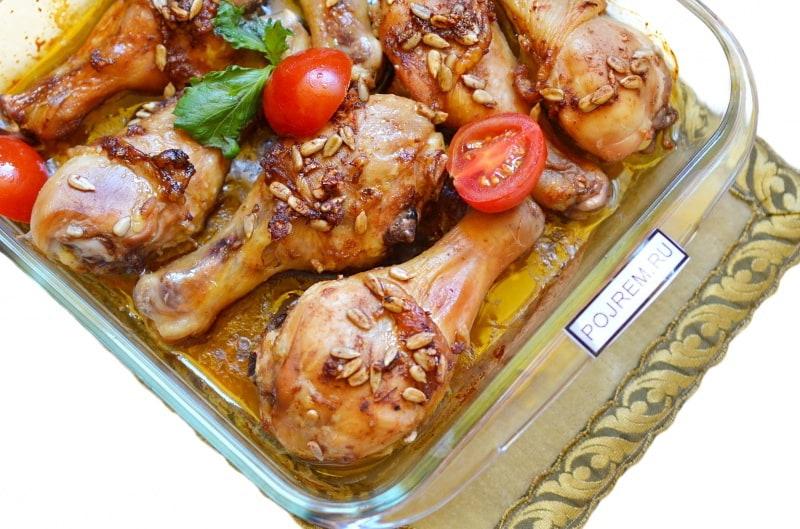 Куриные ножки запеченные в духовке рецепты 185